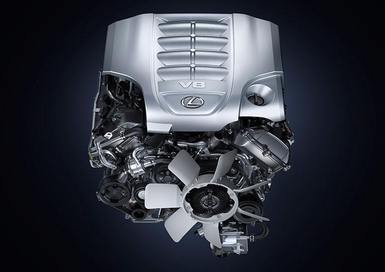 Système de lubrification Lexus