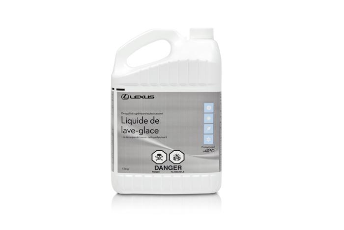 Liquide lave-glace de la marque Premium de Lexus